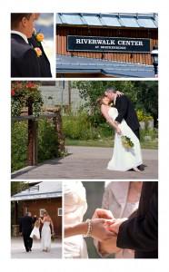 Wedding at Sapphire Point in Breckenridge. Wild flowers.