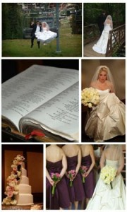 Beaver Creek wedding collage
