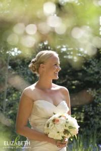beautiful portrait of a bride in Colorado
