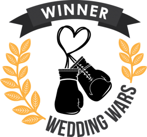 Wedding Wars Bridal Show Winner's Badge
