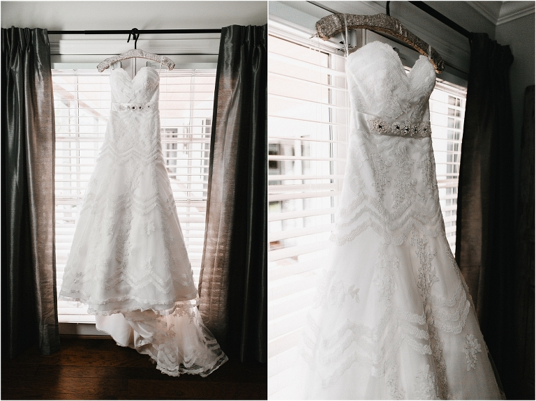 dress hanging,scottsdale wedding planner, bride getting ready, arizona weddings