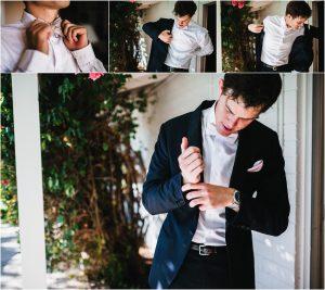 scottsdale wedding planner, groom getting ready, arizona weddings
