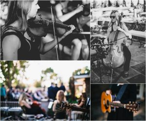 live ceremony music, sting quartet, backyard wedding ceremony, scottsdale wedding planner, outdoor ceremony