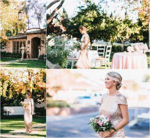 bridesmaids, processional,backyard wedding ceremony, scottsdale wedding planner, outdoor ceremony