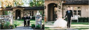 ring bearers and flower girl processional,backyard wedding ceremony, scottsdale wedding planner, outdoor ceremony