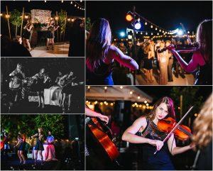 outdoor reception, scottsdale wedding planner, arizona weddings, spinphony, live ceremony music, outdoor dance floor