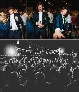 outdoor reception, scottsdale wedding planner, arizona weddings, wedding guests on outdoor dance floor