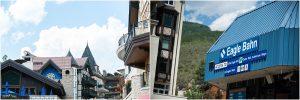 vail mountain, chair lift, bride and groom on ski slope, donavan pavilion, colorado wedding photography, mountain wedding photographer