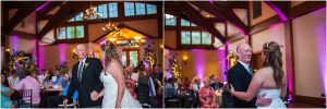 reception, daddy daughter dance,donavan pavilion, mountain wedding photographer, vail wedding photography, colorado weddings