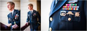 groom portraits, military dress blues, steamboat springs, hotel, colorado wedding photographer, mountain wedding photography