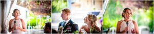 toasts, wedding reception, maid of honor, tented reception space, steamboat springs resort, bride and groom, military wedding, dress blues, colorado wedding photographer, mountain wedding photographer