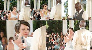 colorado wedding coordinator, colorado wedding photographer, cheesman park denver, ceremony, cheesman pavilion