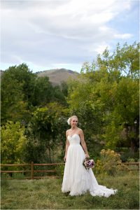 bridal portrait, clear creek park in golden, colorado wedding photographer, mountain wedding planner