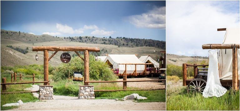 ranch spa, wedding dress hanging, C Lazy U Ranch, Granby, Colorado, Rustic Ranch Wedding, Colorado Wedding Planner, Mountain Wedding Photographer