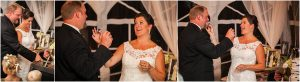 cake cutting, reception,C Lazy U Ranch, Granby, Colorado, Rustic Ranch Wedding, Colorado Wedding Planner, Mountain Wedding Photographer