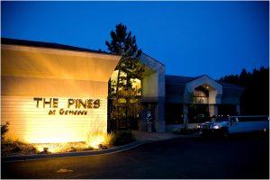 the pines at genesee, night photography, wedding venue, reception, colorado wedding photographer, mountain wedding photography
