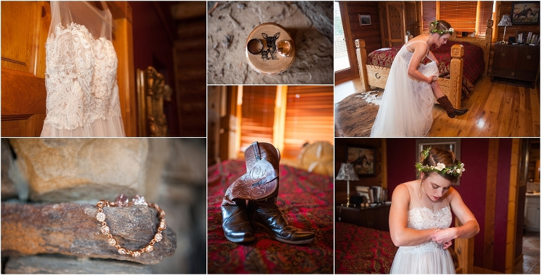 wedding day details, tihsreed lodge, florissant colorado mountain wedding planning, intimate rustic wedding photography