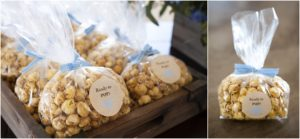 caramel popcorn, ready to pop, snacks, baby shower