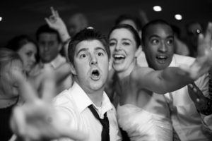 reception party, wedding guests at reception, adults only reception