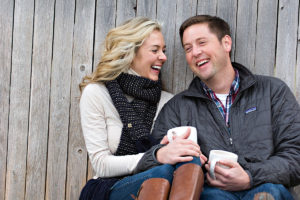 couple laughing, proposal tip 6